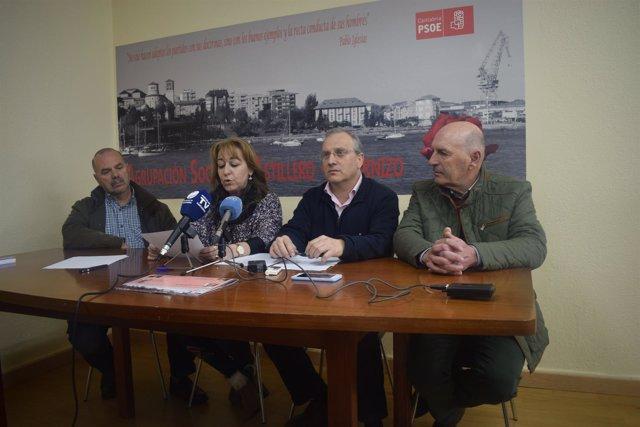 Integrantes del PSOE de Astillero hablan sobre ruptura pacto PRC-PSOE