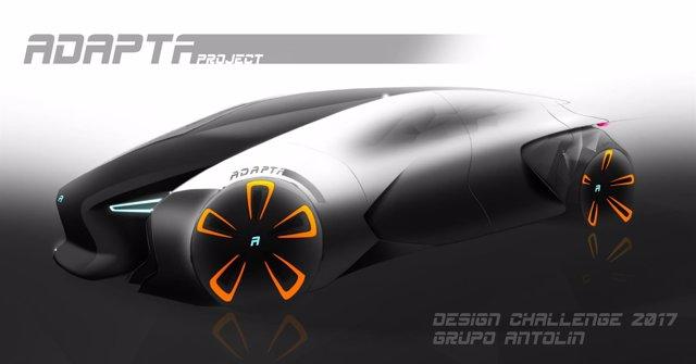 Diseño del vehículo Adapta