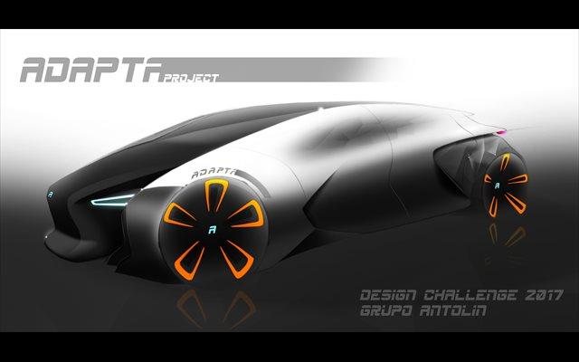 Un alumno de la UPV, premiado por el diseño futurista de un vehículo social