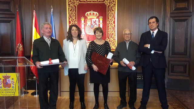 Celebración del Día Meteorológico en la Delegación del Gobierno en Navarra.