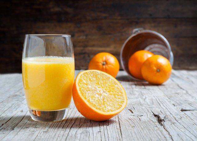 Zumo, naranja, Vitcamina C