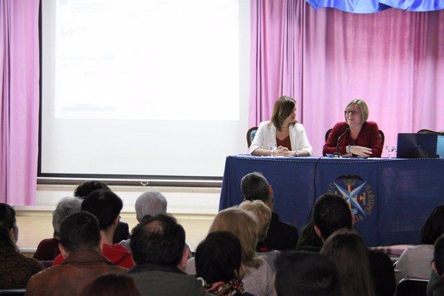 Jornada del Cabanyal-Canyamelar-Grau. Sandra Gómez y María José Salvador