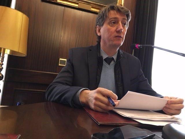 Imagen de recurso del alcalde de Soria, Carlos Martínez