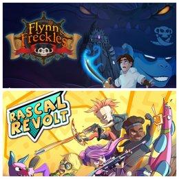 Flynn and Freckles y Rascal Revolt llegan a PlayStation 4