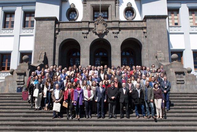 Pleno de CRUE-Sosteniblidad en La Laguna 2018