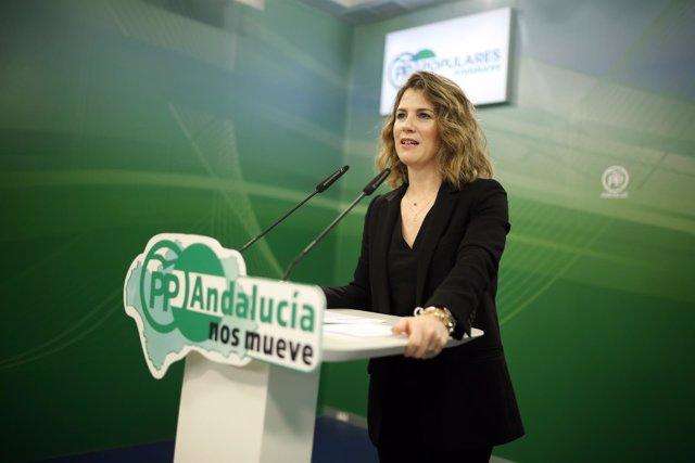 La vicesecretaria de Sociedad del Bienestar del PP-A, Ana Mestre