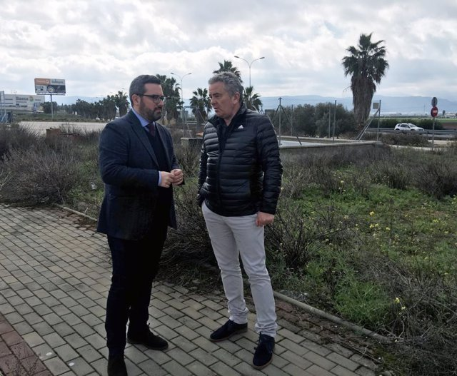 Manuel Chicón en Antequera centro logístico reclama conexión Cartaojal autovia