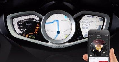 Kymco da el primer paso hacia su propuesta de scooter inteligente con la app móvil Noodoe Navigation