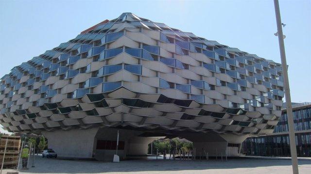 Pabellón de Aragón en la Expo 2008