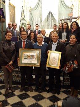 La ONCE dedica su cupón a la patrona de Carrión de los Céspedes (Sevilla)