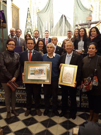 La patrona de Carrión de los Céspedes (Sevilla) protagonizará el cupón de la ONCE del Jueves Santo