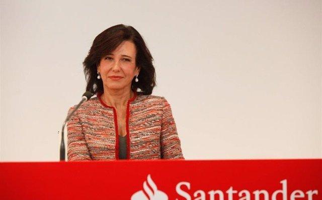 Santander repartirá un dividendo complementario de 0,06 euros por acción el 2 de mayo