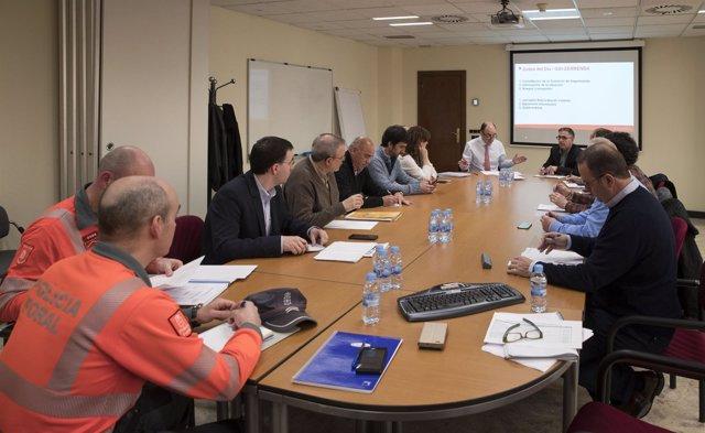 Comisión de Seguimiento de las obras de los túneles de Belate y Almandoz