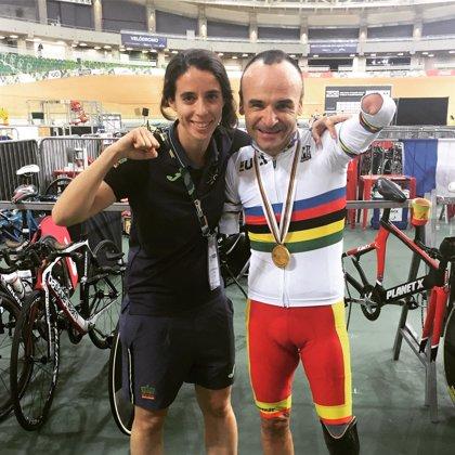 El tándem Ávila-Font y Ricardo Ten logran una plata y un bronce en el Mundial adaptado en pista