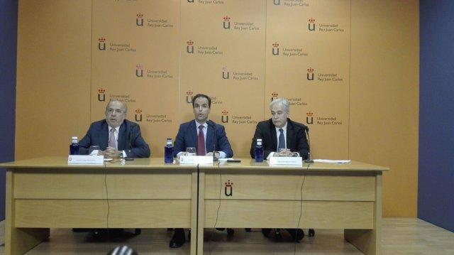 El rector de la Universidad Rey Juan Carlos (URJC), Javier Ramos