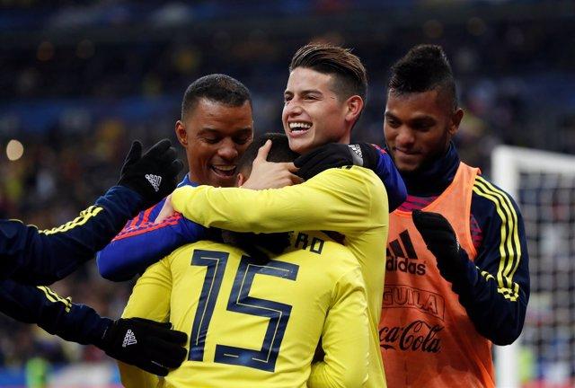 Colombia - Francia