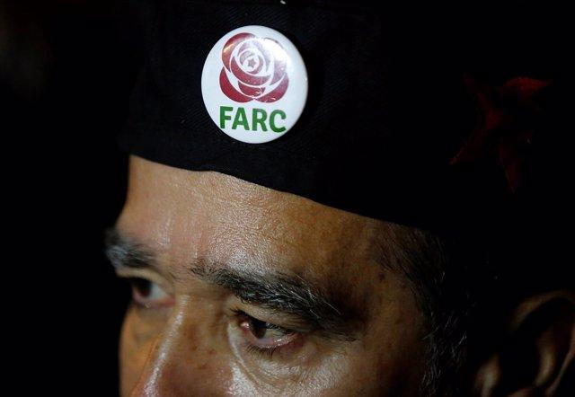Simpatizante del partido FARC