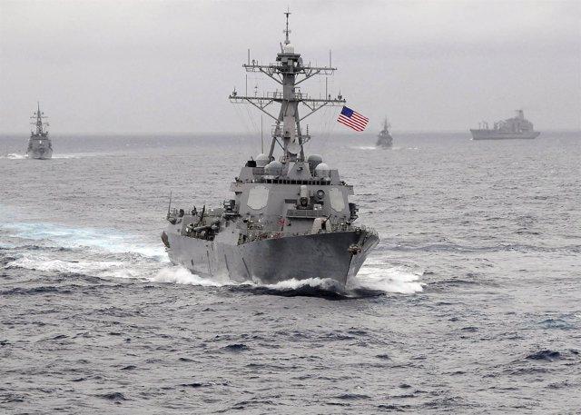 USS Lassen, el buque que ha navegado en China