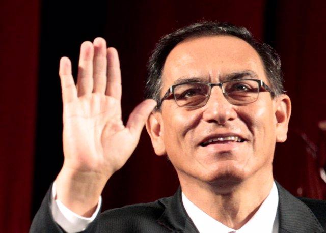 El nuevo presidente de Perú, Martín Vizcarra