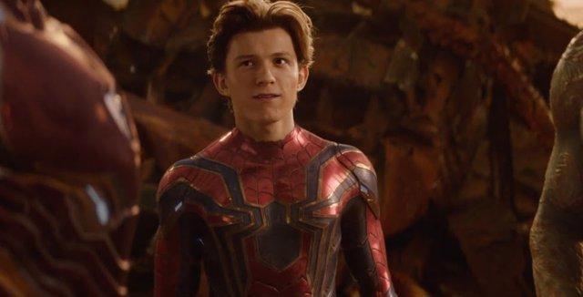 Spiderman en Vengadores Infinity War