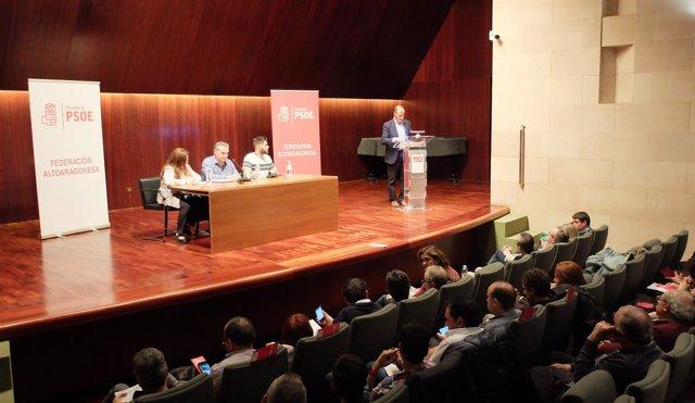 Comité provincial de la Federación Altoaragonesa del PSOE.