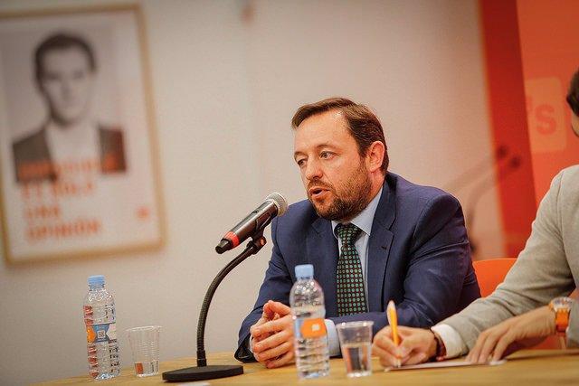 El portavoz de Hacienda de Ciudadanos en el Congreso, Francisco de la Torre