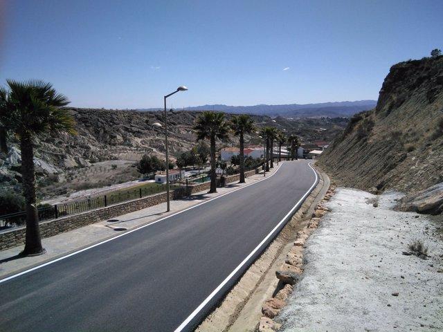 Los Planes Provinciales mejoran la Avenida de Andalucía de Partaloa.