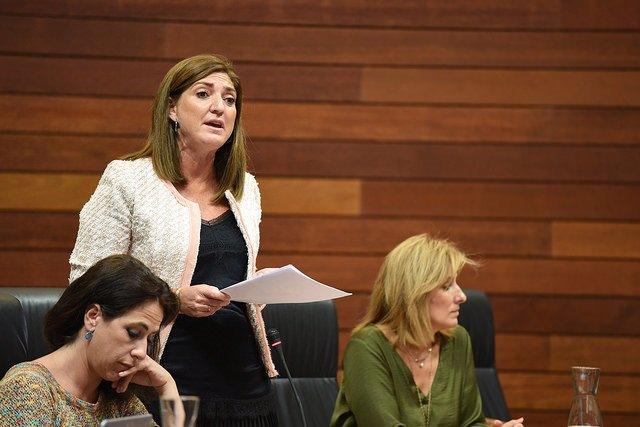 La diputada del PP, Pilar Pérez, en una imagen de archivo