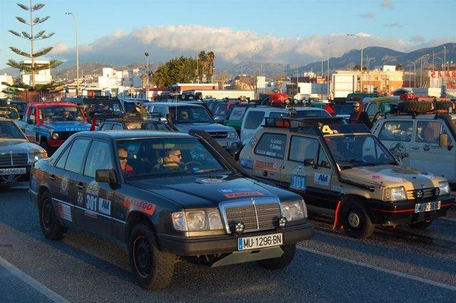 Vehículos parten de Motril a la Maroc Challenge