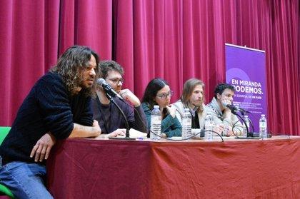 """Fernández (Podemos) propone un """"cambio de modelo productivo"""" que facilite """"fijar"""" población en la Comunidad"""