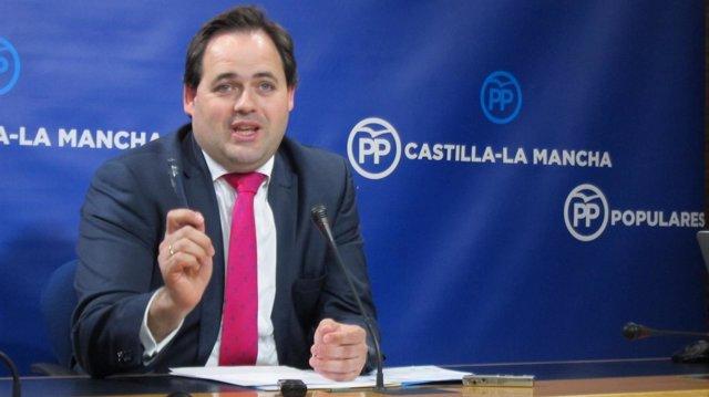 El portavoz adjunto del Grupo Parlamentario Popular, Francisco Núñez
