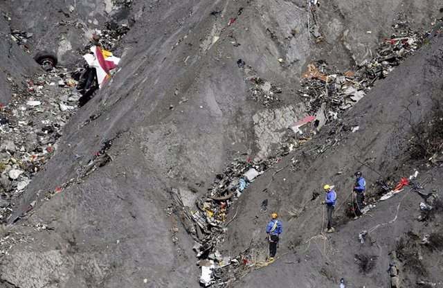 Zona accidentada del Germanwings