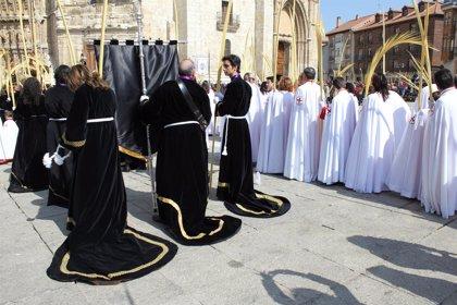 Las Palmas anunciarán la entrada triunfal de Jesús en Palencia este Domingo de Ramos