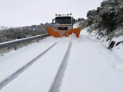 Fomento reserva 579 quitanieves para las nevadas en Galicia, Asturias, Cantabria y Castilla y León