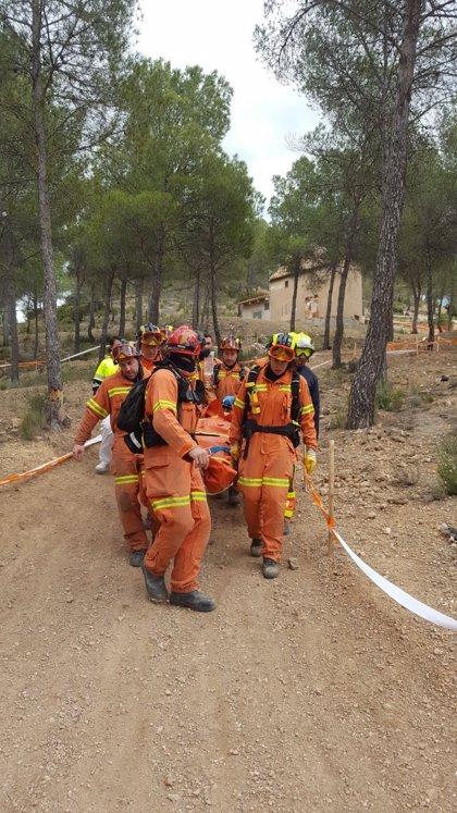 Rescatan a dos heridos que se habían caído haciendo deporte en Suera (Castellón) y Cofrentes (Valencia)