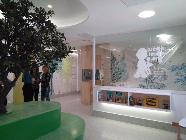 Nueva sala de oncología para dolescentes en el Hospital Niño Jesús