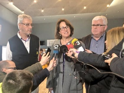 """Elisenda Paluzie (ANC): """"Trabajaremos sin descanso para hacer posible la República catalana"""""""