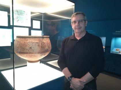 """Los habitantes de la Llíria de los siglos III y II a.C. pintaron sobre el """"fin del mundo"""" en el 'Vaso de los Guerreros'"""