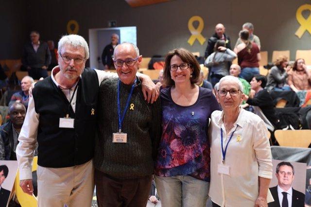 Joaquim Arnau, Pep Cruanyes, Elisenda Paluzie, Montserrat Rossell (ANC)
