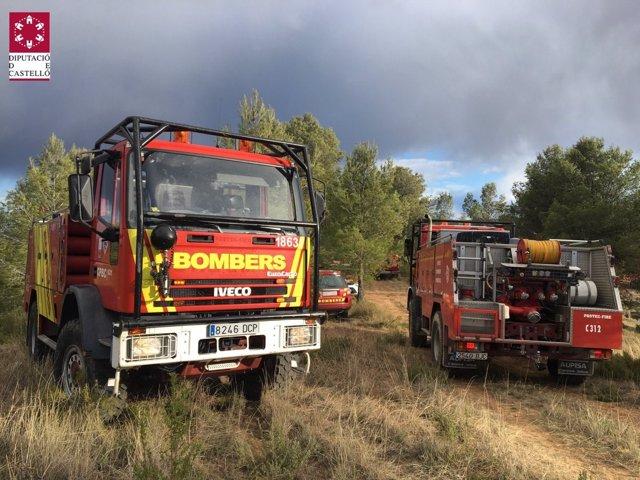 Camión de bomberos, bomberos, extinción, incendio, SIAB, Consorcio