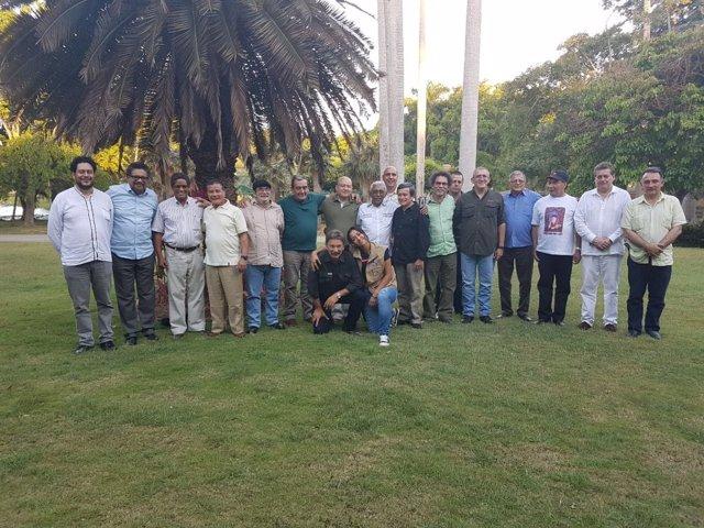 La cúpula de las FARC y el ELN