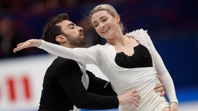Olivia Smart y Adrián Díaz