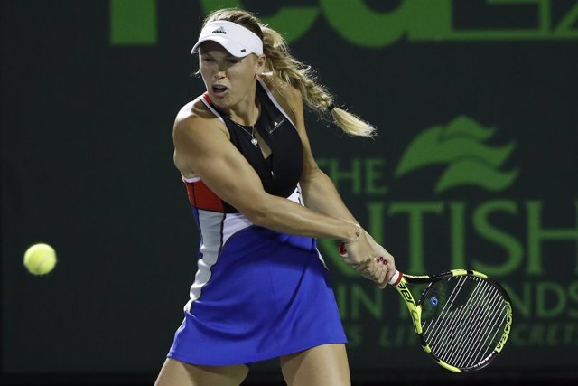 La tenista danesa Caroline Wozniacki