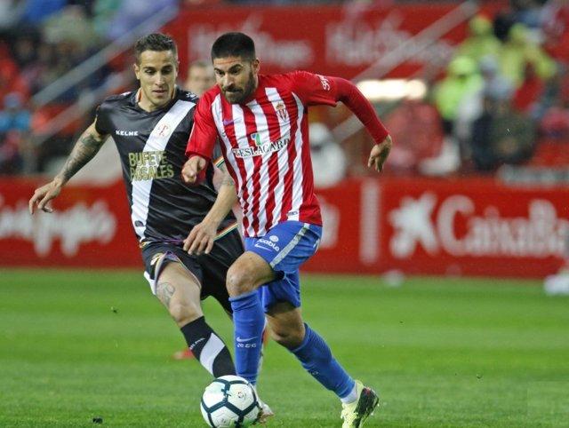 Sporting y Rayo empatan en El Molinón