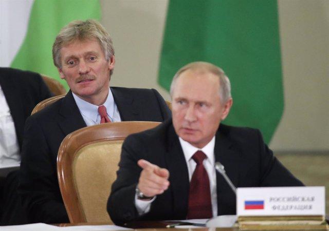El portavoz del presidente Putin, Dimitri Peskov