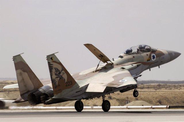 Avión De Combate Israeli