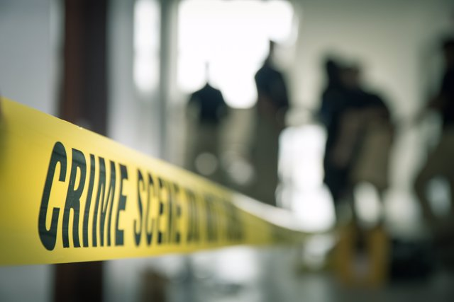 Forense, escena de crimen