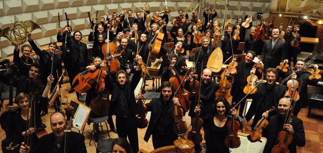 Orquesta francesa Les Siecles