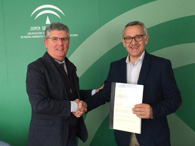 Acuerdo entre la Junta de Andalucía y el Ayuntamiento de Bonares (Huelva)