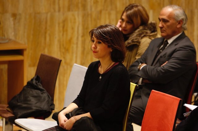 Juana Rivas en la vista oral